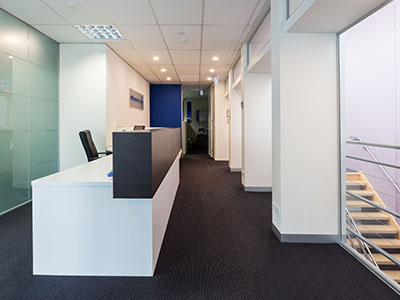 Commercial joinery and cabinet making - Office fitout